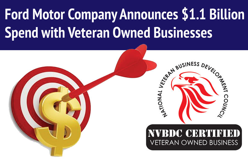 Ford motor company spends over 1 billion with veteran for Ford motor company news