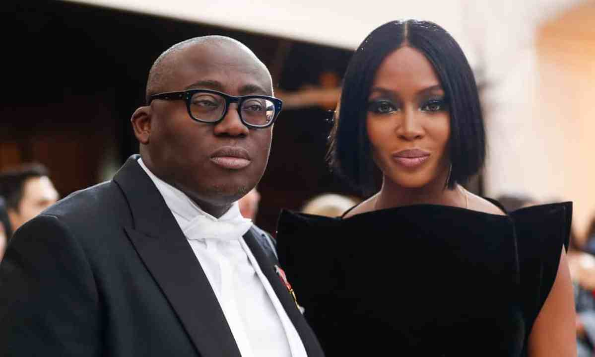Edward Enninful becomes first non white editor of British Vogue